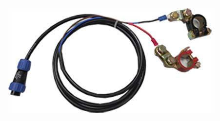 Cable alimentación para batería exterior equipos AFOTRES- GPRS