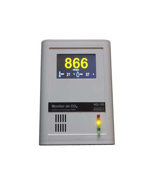 Medidor CO2 AQ-100