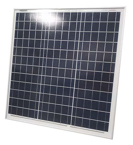 Kit panel solar más regulador para carga de baterías.